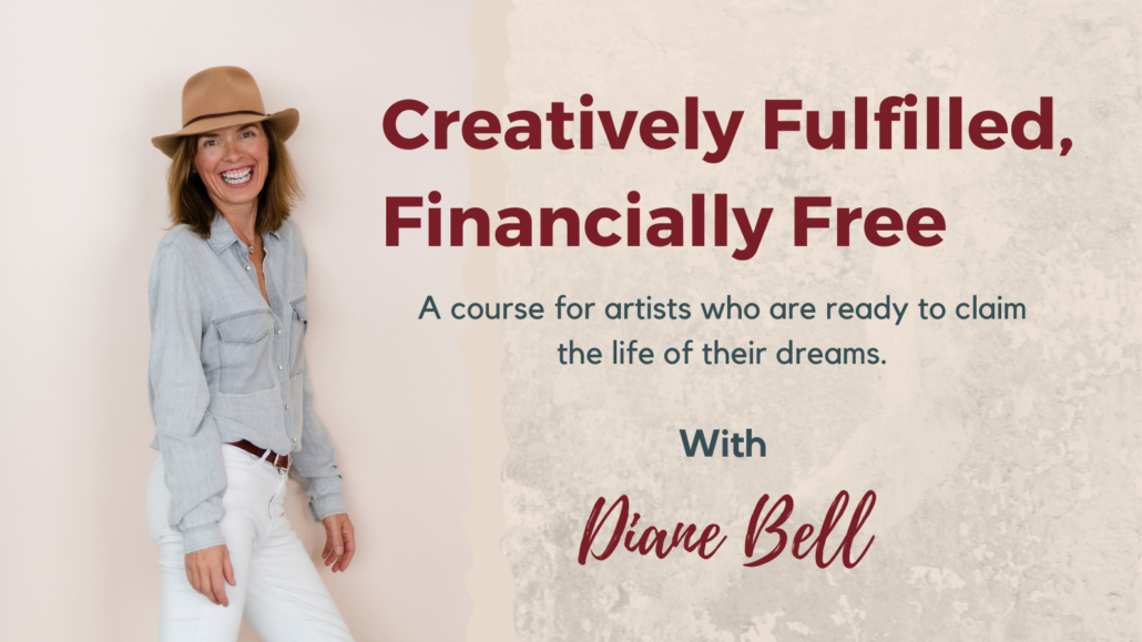 Creatively Fulfilled, Financially Free Banner