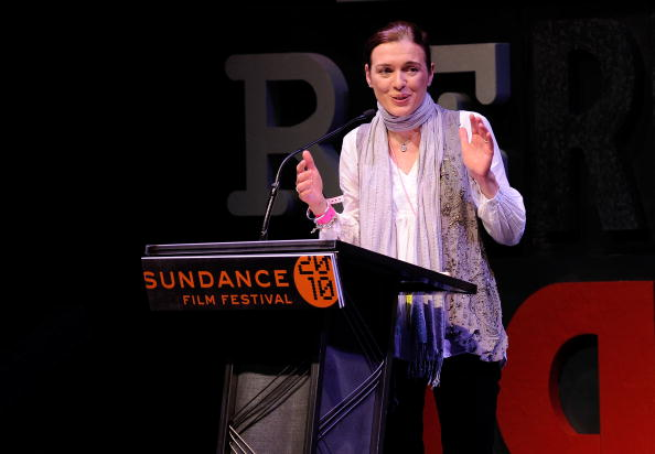 Diane Bell at Sundance in 2010